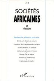 Societes Africaines Et Diaspora - Couverture - Format classique