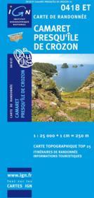 Camaret, presqu'île de Crozon ; 0418 ET - Couverture - Format classique