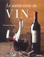 Savoir-Vivre Du Vin (Le) - Intérieur - Format classique