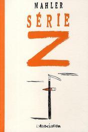 Série Z - Couverture - Format classique