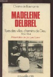 Madeleine delbrel - Couverture - Format classique