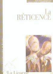 Reticence - Intérieur - Format classique
