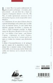 Messieurs Ma, Pere Et Fils - 4ème de couverture - Format classique