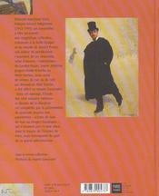 Au Temps De Marcel Proust - 4ème de couverture - Format classique