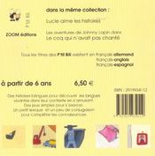 Le Voyage Au Fond De Ma Chambre Francais Allemand - 4ème de couverture - Format classique