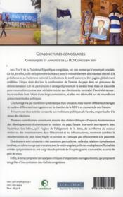 Conjonctures congolaises ; chroniques et analyses de la RD Congo en 2011 - 4ème de couverture - Format classique
