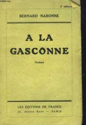 A La Gasconne - Couverture - Format classique