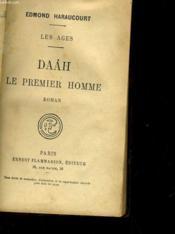 Les Ages - Daah Les Premier Homme - Couverture - Format classique