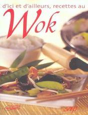 D'ici et d'ailleurs, recettes au wok - Intérieur - Format classique