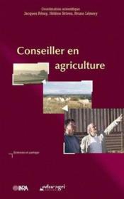 Conseiller en agriculture - Couverture - Format classique