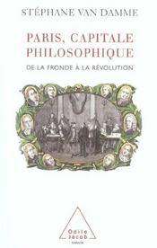 Paris, capitale philosophique - Intérieur - Format classique