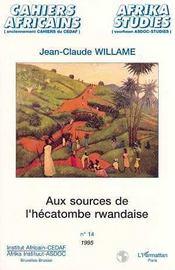 Aux Sources De L'Hecatombe Rwandaise - Intérieur - Format classique