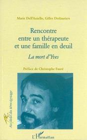 Rencontre Entre Un Therapeute Et Une Famille En Deuil - Intérieur - Format classique