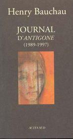 Journal D'Antigone 1989-1997 - Intérieur - Format classique