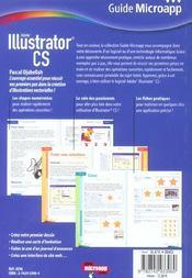 Illustrator Cs - 4ème de couverture - Format classique