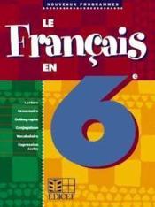 Le Francais En 6e - Couverture - Format classique