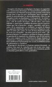 Le Revue L'Inactuel 10 - Singulier - 4ème de couverture - Format classique