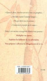 Vaincre Avec Le Sourire ; 108 Stratagemes - 4ème de couverture - Format classique