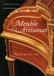 Meuble et artisanat a paris - Intérieur - Format classique