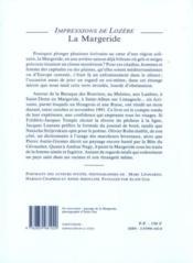 Margeride - 4ème de couverture - Format classique