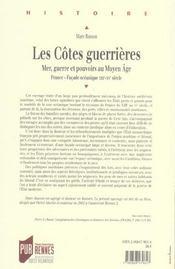 Cotes guerrieres - 4ème de couverture - Format classique