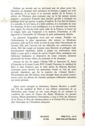 Mazarin, le maître du jeu - 4ème de couverture - Format classique