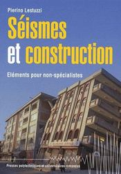 Séismes et constructions ; éléments pour non-spécialistes - Intérieur - Format classique