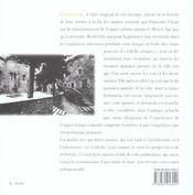 Espacements, l'évolution de l'espace urbain en France - 4ème de couverture - Format classique