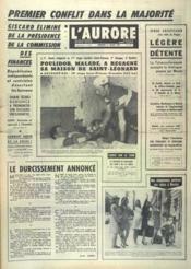 Aurore (L') N°7426 du 17/07/1968 - Couverture - Format classique