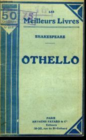 Othello Ou Le More De Venise - Couverture - Format classique