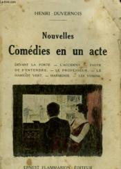 Nouvelles Comedies En Un Acte. - Couverture - Format classique