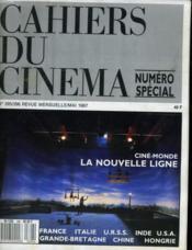Cahiers Du Cinema N° 395 - 396 - Cine Monde La Nouvelle Ligne - France - Italie - Inde... - Couverture - Format classique