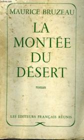 La Montee Du Desert - Couverture - Format classique