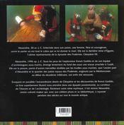 La Legende Engloutie De Cleopatre - 4ème de couverture - Format classique