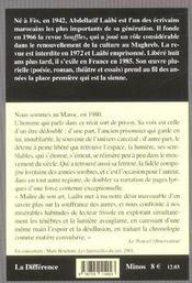Chemin Des Ordalies (Le ) - 4ème de couverture - Format classique