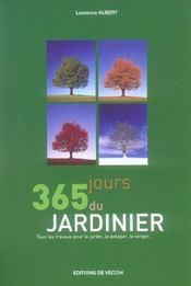 365 jours du jardinier - Intérieur - Format classique