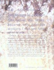 Saumon ; 120 recettes passion - 4ème de couverture - Format classique