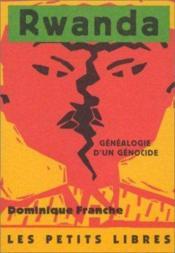 Rwanda, Genealogie D'Un Genocide - Couverture - Format classique