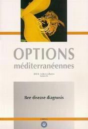 Bee disease diagnosis options mediterraneennes serie b n 25 - Couverture - Format classique