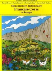 Mon premier dictionnaire francais/corse en images - Couverture - Format classique