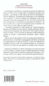 Darquier De Pellepoix - 4ème de couverture - Format classique