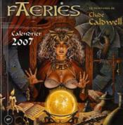 Calendrier faeries 2007 - Couverture - Format classique