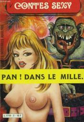 Contes Sexy. Pan ! Dans Le Mille... - Couverture - Format classique