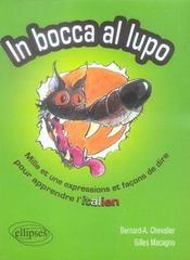 In bocca al lupo ; mille et une expressions et façons de dire pour apprendre l'italien - Intérieur - Format classique