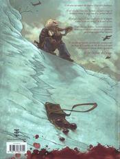 L'enfant de l'orage t.1 ; pierres de sang - 4ème de couverture - Format classique