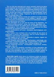 Comment Vaincre Ses Peurs Et Angoisses - 4ème de couverture - Format classique