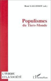 Populismes Du Tiers-Monde - Couverture - Format classique