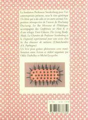 Duchamp duchamp, du lard a l'art - 4ème de couverture - Format classique