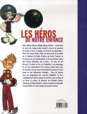 Les héros de notre enfance - 4ème de couverture - Format classique