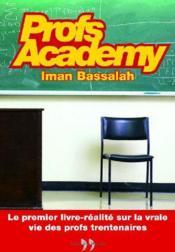 Profs academy - Couverture - Format classique